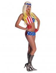 Kostume Lady Gaga™ Amerika til kvinder