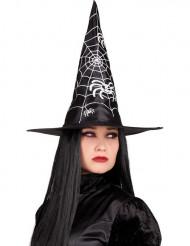 Sort heksehat Halloween voksen