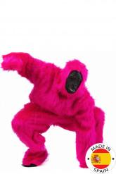 Kostume pink gorilla voksen