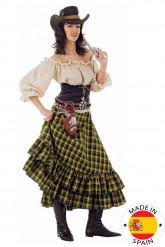 Kostume cowgirl voksen