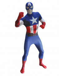 Kostume Captain America voksen Morphsuits™