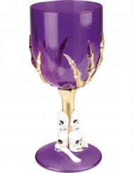 Lilla glas til Halloween stykvis