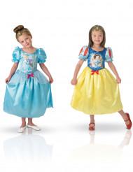 Kostume vendbart Snehvide™ og Askepot™ til piger