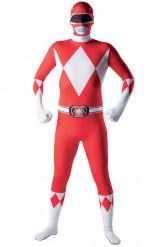 Tætsiddende Power Rangers™-kostume voksen