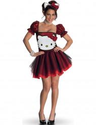 Kostume Hello Kitty™ rødt til voksne