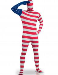 Kostume Second Skin USA til voksne