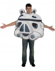 Kostume Angry Birds Strormtrooper™ til voksne