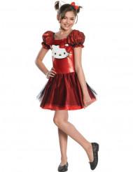 Kostume Hello Kitty™ rød til piger