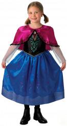 Udklædningsdragt deluxe Anna Frozen™ barn