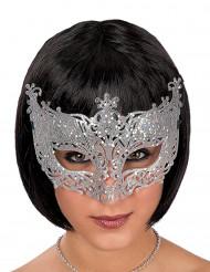 Venetiansk maske sølv