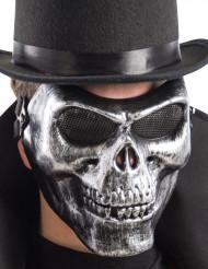 Sælvfarvet maske skelet