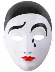 Pierrotmaske voksen