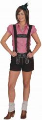 Kostume korte lederhosen til kvinder