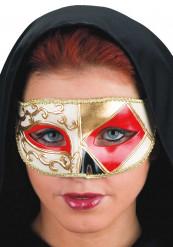 Venetiansk maske rød
