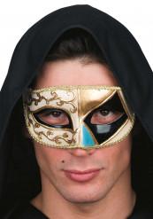 Sort venetiansk maske