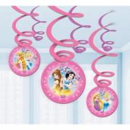 6 Hængende dekorationer Disney Princesses™