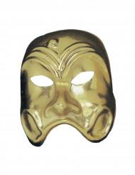 Guldfarvet fantome maske til voksne