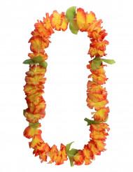 Krans hawaiiblomster orange
