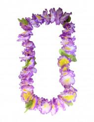 Krans hawaiiblomster lillla