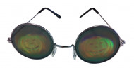 Runde briller med græskar