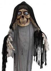 Skræmmende skelet halloween deko