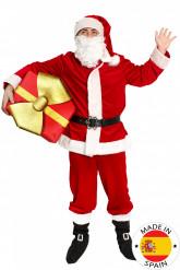 Premium julemandskostume til voksne
