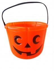 Græskar-spand til halloween