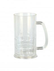 Ølkrus i plast