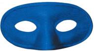 Blå halvmaske til børn