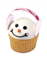 12 Dekorationer til cupcakes ørevarmere