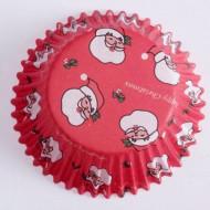 60 cupcake forme julemand