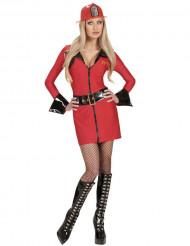 Kostume sexet brandmand til kvinde
