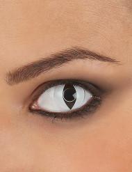 Hvide reptil-kontaktlinser til voksne