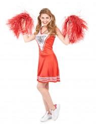 Cheerleaderkostume voksen