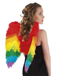 Mangefarvede vinger til voksne