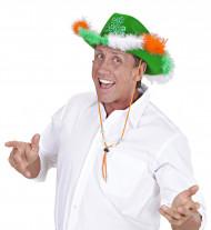 Grøn cowboyhat til ST Patricks dag