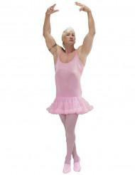 Udklædningsdragt lyserød stjernedanser voksen