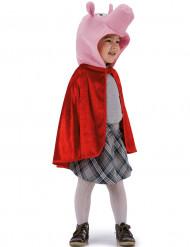 Rød kappe med grisehoved