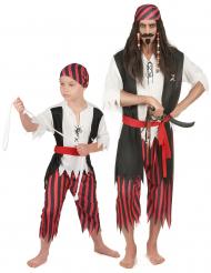 Parkostume pirat far og søn
