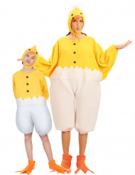 Parkostume kylling voksen og barn