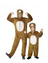 Par kostume bjørne far og barn