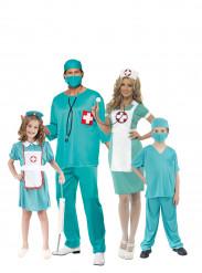 Familiekostume sygeplejersker