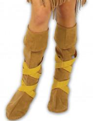 Inianske skoovertræk til voksne