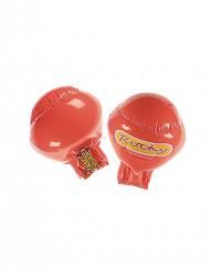 Oppustelige røde boksehandsker