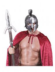 Sølv gladiatorhjelm til voksne