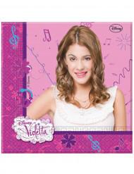20 Servietter Violetta™ 33 x 33 cm