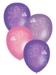 8 Balloner printet med Prinsesse Sofia™
