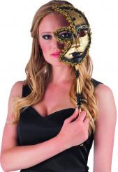 Halvmaske fra karnevallet i Venedig