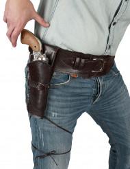 Cowboybælte med hylster voksne