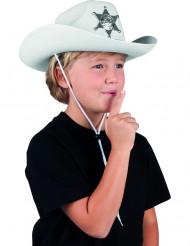 Hvid sherifhat børn
